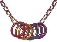 Rainbow Necklace 1