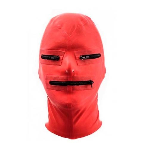 Fist Latex Mask Zip