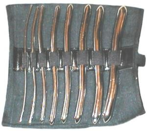 Dilatator Set, 8 Pieces