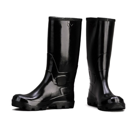 Rubber Boots, knee-high