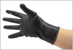 Latex Gloves, heavy, short