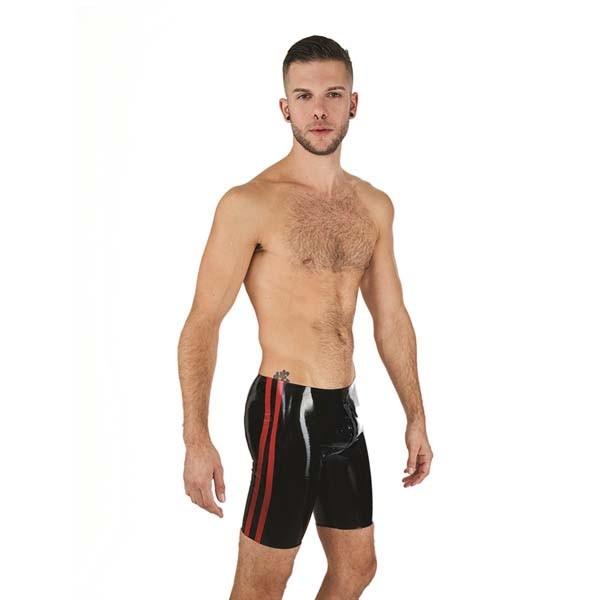 Mister B Rubber Fucker Shorts Black/Red