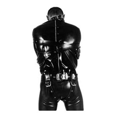 Latex Zwangsjacke