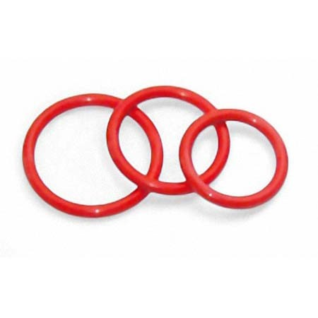Rubber Cockring, red
