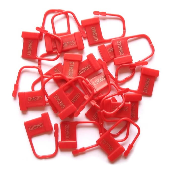 CB-Locks, red, 100 pcs
