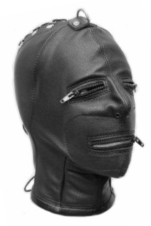 Leather Hood ZIP