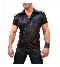 Leather Shirt SF