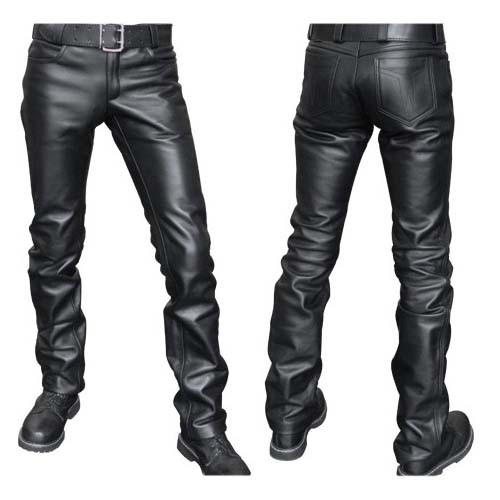 Leather Jeans Mister B