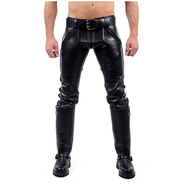 Mister B Leather FXXXer Jeans