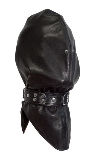 Leather Headbag with Collar