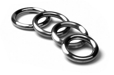 Cockring, rounded