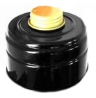 Gas Mask Filter, black