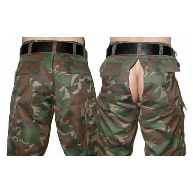 US Army Pants Zip