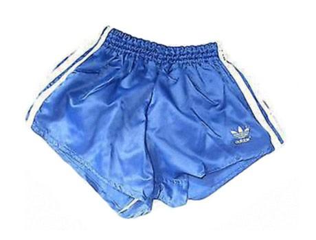 Adidas Short, blau