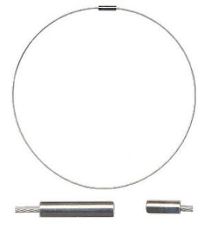 Stahlkabel-Halsreif