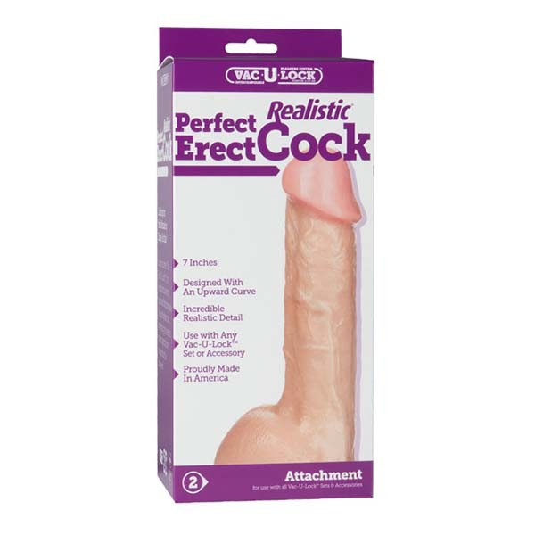 "Dildo 7"" Perfect Realistic"