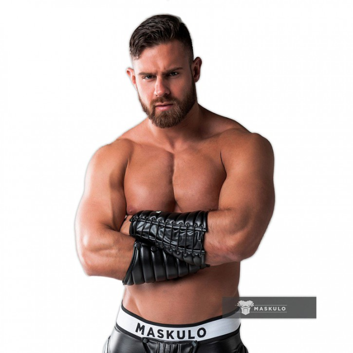 Maskulo Leather-look Forearm Wallet