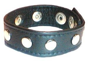 Wrist Band with Rivets