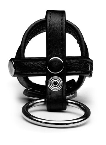 Ring Black Cage