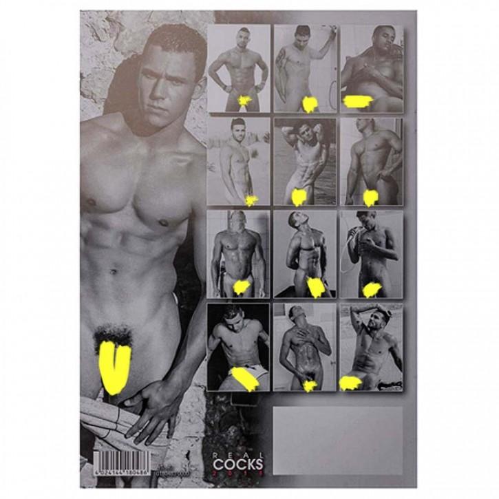 Real Cocks 2019 Calendar