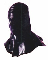 Rubber Mask with Shoulder