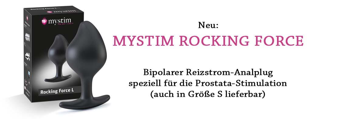 Rocking Force Mystim E-Stim Butt Plug