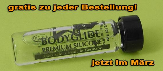 Bodyglide Premium Silicone Gleitgel, 3 ml