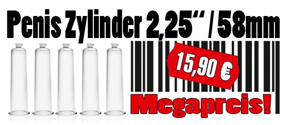 Penis Zylinder, Ø 58 mm