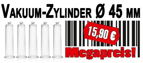 Penis Zylinder, Ø 45 mm