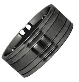 Black Steel Cockring