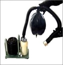 Gasmasken-Inhalationsset