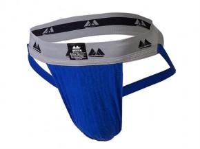 Supporter Jock, breit, blau, Größe M