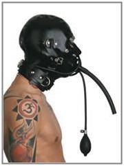 Latex Kombi-Maske