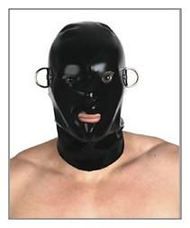 Latexmaske schnürbar