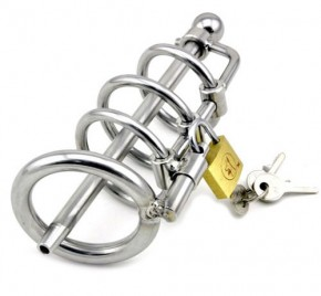 Piss King Chastity Cage