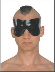 Augenmaske Latex