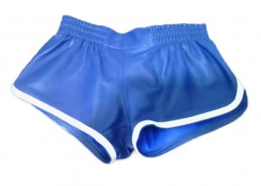 Training Leather Shorts blue