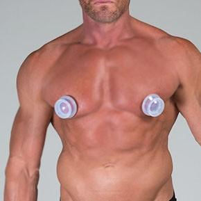 SPORTFUCKER Tit Suckers Silicone Nipple Suckers, 30 mm