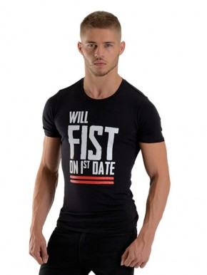 Mister B Shirt FIST ON FIRST DATE, M