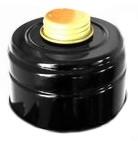 Gasmaskenfilter, schwarz