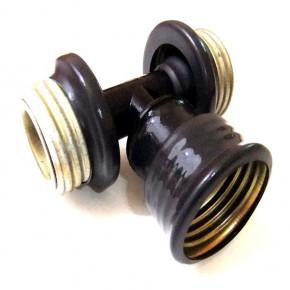 Gasmasken T-Stück 2