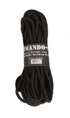 Commando Seil, schwarz