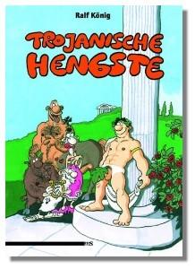 Comic 'Trojanische Hengste'